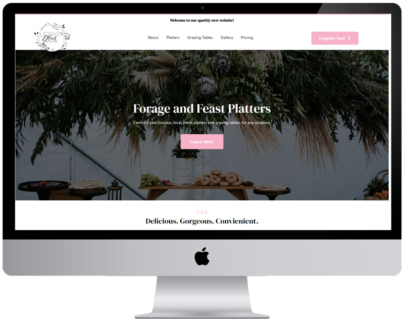 Forage and Feast iMac