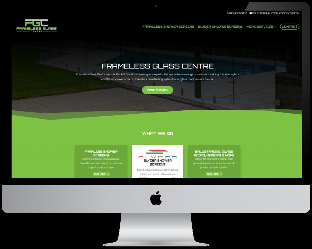 Frameless Glass Centre